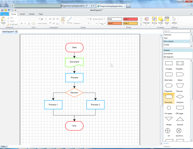 Step by step diagrams designer perpetuum software in this designer you can create any diagrams ccuart Choice Image