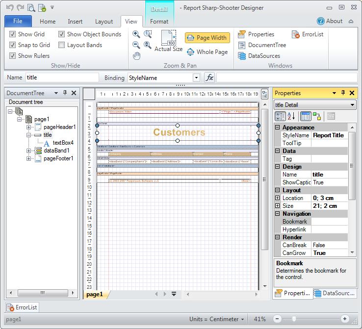 Pentaho report designer – arm treasure data.